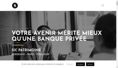 Site internet de Sic
