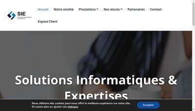 Site internet de Solutions Informatiques et Expertises