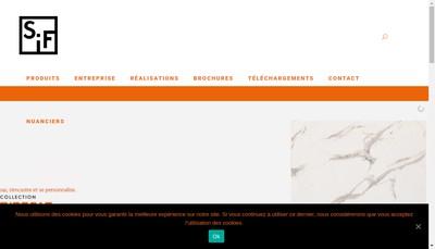 Site internet de Sif