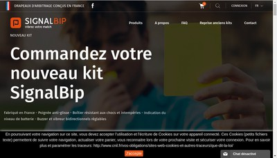 Site internet de Signal Bip