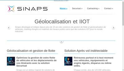Site internet de Sinaps