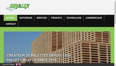 Site internet de Sipalex