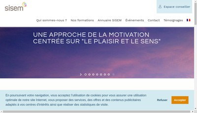 Site internet de Sisem