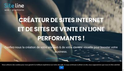 Site internet de Site Line