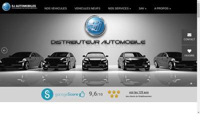 Site internet de Sj Automobiles