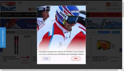 Site internet de Skibox