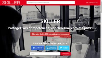 Site internet de Skiller