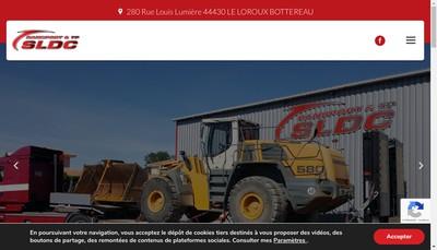 Site internet de Sldc Transport & Tp