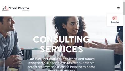 Site internet de Smart Pharma Consulting