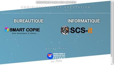 Site internet de Scs - Smart Copie Solutions