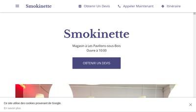 Site internet de Smokinette