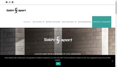 Site internet de Sobhi Sport