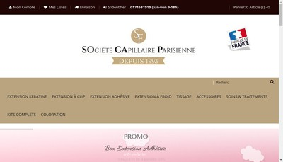 Site internet de Socap
