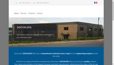 Site internet de Socvalves