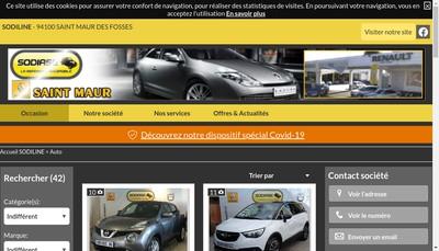 Site internet de Sodiline