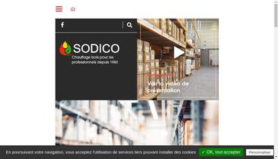 Site internet de Sodico
