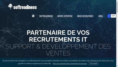 Site internet de Softreadiness
