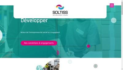 Site internet de Soltiss