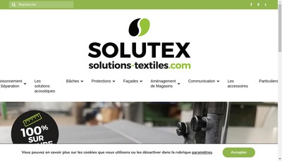 Site internet de Toiles & Deco