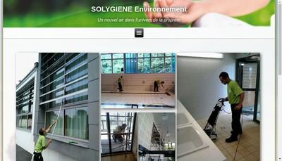 Site internet de Solygiene Environnement