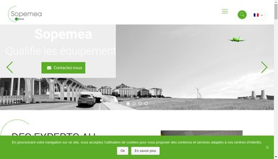 Site internet de Sopaval