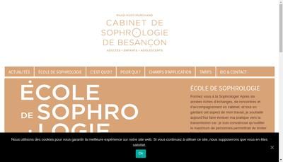 Site internet de Cabinet de Sophrologie de Besancon