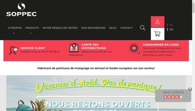 Site internet de Technima France SAS