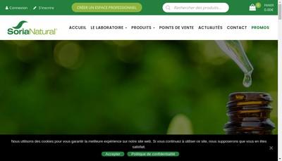 Site internet de Soriavie SARL