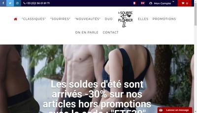 Site internet de Le Sourire du Plombier