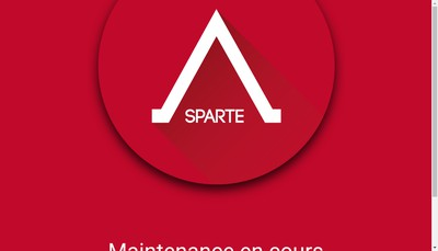 Site internet de Sparte