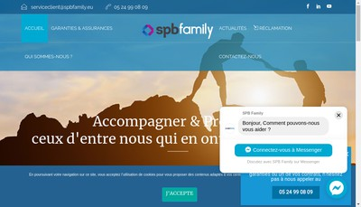 Site internet de Spb Family