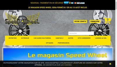 Site internet de Speed Wheel