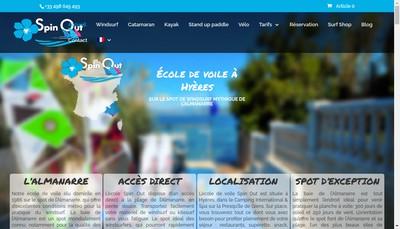 Site internet de Spinout France