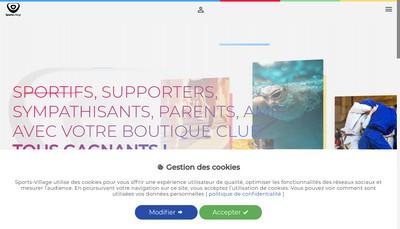 Site internet de Wikisport