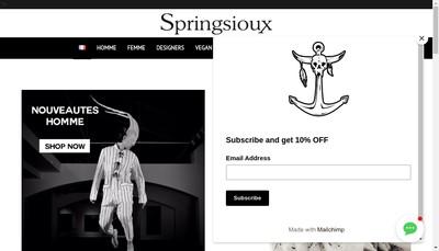 Site internet de Springsioux