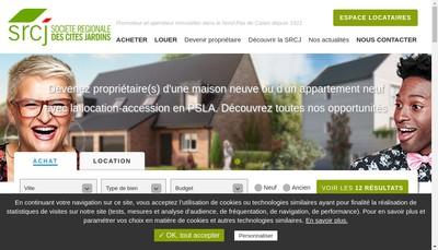 Site internet de Tisserin Habitat - SA d'Habitations a Loyer Modere