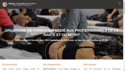 Site internet de Ssk Formation