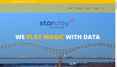 Site internet de Starclay