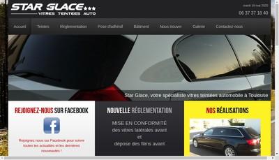 Site internet de Star Glace