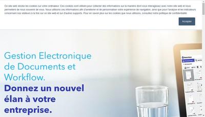 Site internet de Docuware