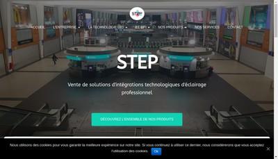Site internet de Step