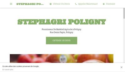 Site internet de Stephagri