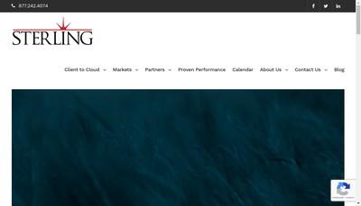 Site internet de Sterling Corporate Relocation