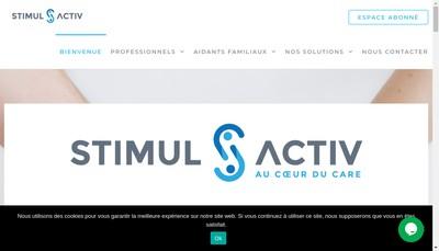 Site internet de Stimul'Activ