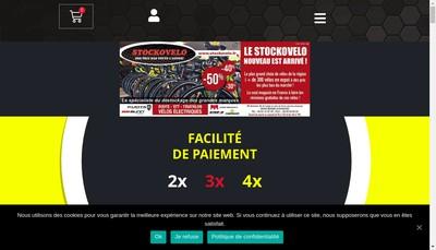 Site internet de Stockovelo