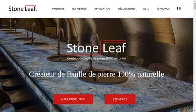 Site internet de Stoneleaf