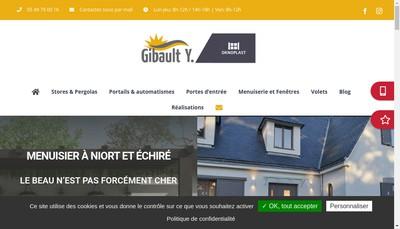 Site internet de Gibault Yanis