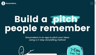 Site internet de Storymakers