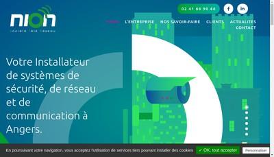 Site internet de Str Nion