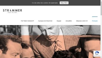 Site internet de Strammer